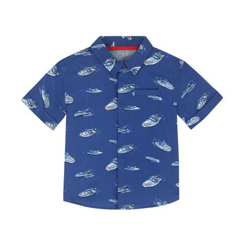 SS SHIRT SPACED SUMMER BOAT