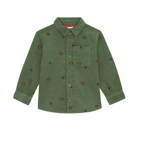 LS Embroidered Bear Shirt Bears