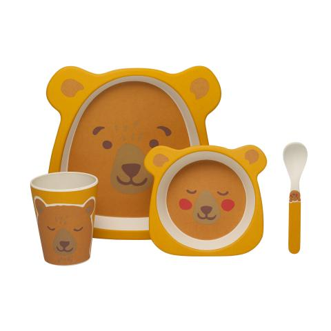 NOVELTY BEAR MEALTIME SET