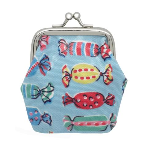 KIDS MINI CLASP PURSE SWEETS DUSTY BLUE