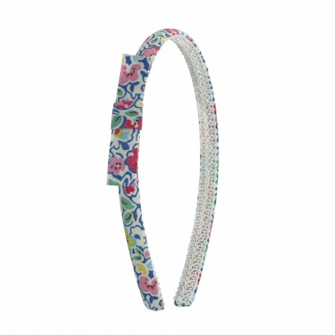 KIDS HEADBAND FOREST DITSY BLUE MULTI