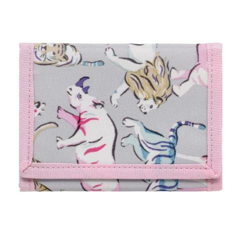 KIDS WALLET SAFARI ANIMALS PASTEL MULTI