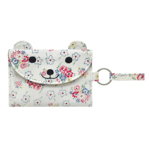 KIDS CAT POCKET PURSE   LUCKY BUNCH OFF WHITE