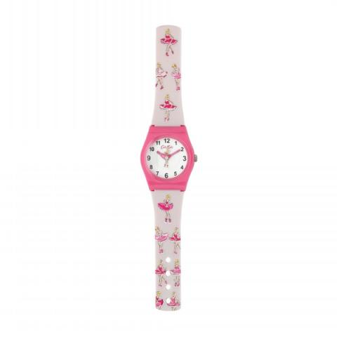 KIDS WATCH BALLERINA STRIPE
