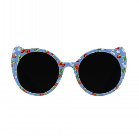 JUNIOR CAT EYE SUNNIES WILD STRAWBERRY