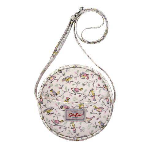 ROUND HANDBAG LITTLE BIRDS