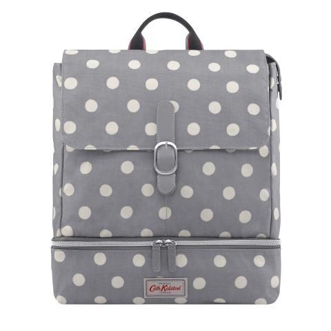 CHANGING RUCKSACK BUTTON SPOT
