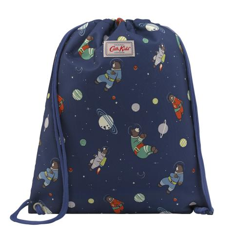 DRAWSTRING BAG BEARS IN SPACE
