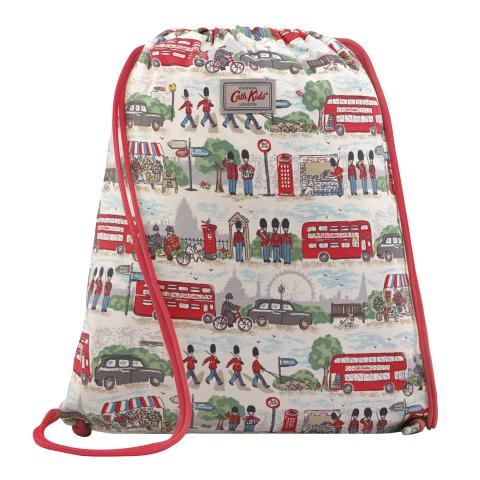 DRAWSTRING BAG FAST TRAINS