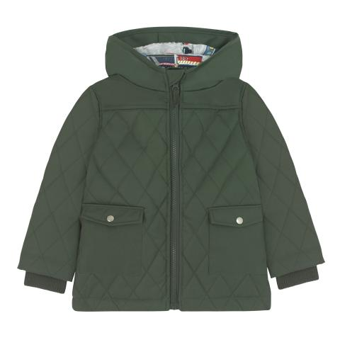 BORDON QUILTED COAT 5-6 Y