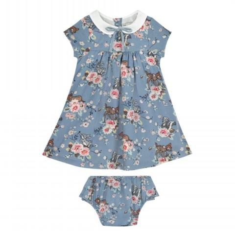 BABY COLLAR DRESS BAMBI ROSE