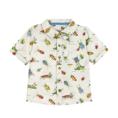 KIDS SHORT SLEEVE SHIRT BUGS