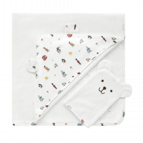 KIDS TOWEL AND WASH MITTEN ICONS
