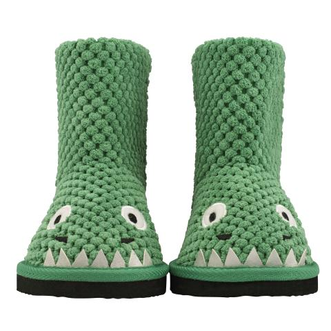 DRAGON SLIPPER BOYS GREEN 170-180MM
