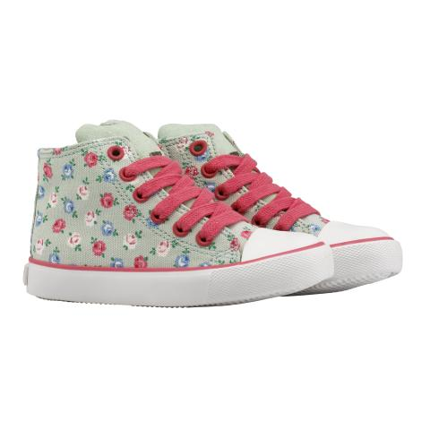 NOVELTY HIGH TOP TRAINER LUCKY ROSE MINT 150MM