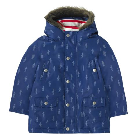 KIDS PARKA MONO GUARDS BLUE 5-6Y