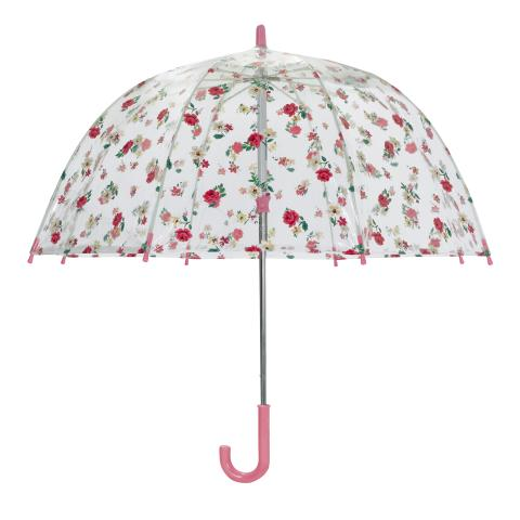 KIDS UMBRELLA HAMPSTEAD DITSY BLUSH PINK