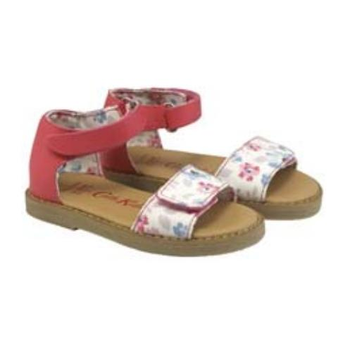 KIDS SANDAL ISLAND FLOWERS CREAM LILAC