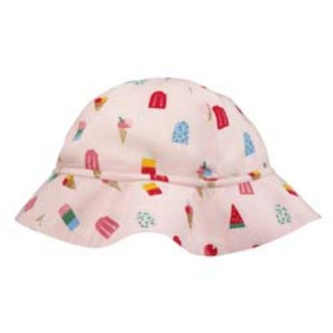GIRLS HAT LOLLIES LIGHT PINK