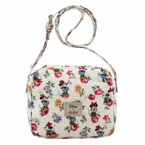 DISNEY KIDS HANDBAG MINNIE LINEN SPRIG CREAM