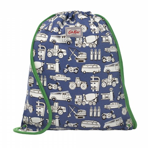 KIDS DRAWSTRING BAG GARAGE MONO SOFT NAVY