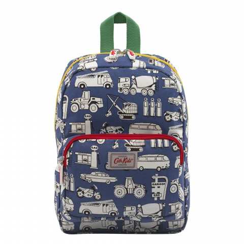 KIDS MEDIUM PADDED BACKPACK GARAGE MONO SOFT NAVY
