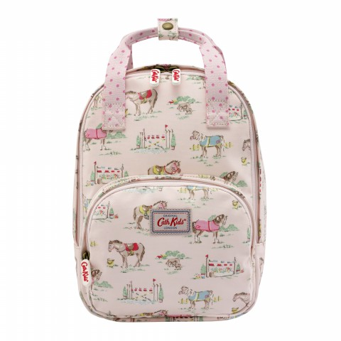KIDS MEDIUM BACKPACK PONY POWDER PINK