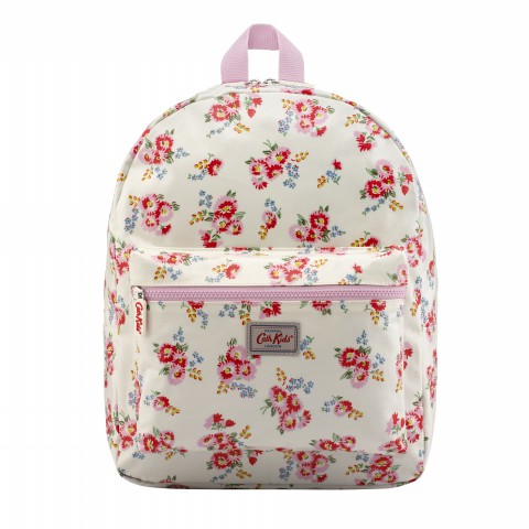KIDS RUCKSACK PADDED DAISY BUNCH OFF WHITE