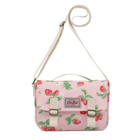 KIDS MINI SATCHEL MINI STRAWBERRY SOFT PINK