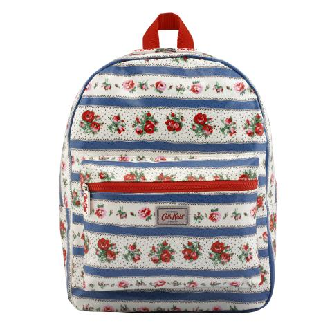 KIDS RUCKSACK PADDED RIBBON ROSE CREAM