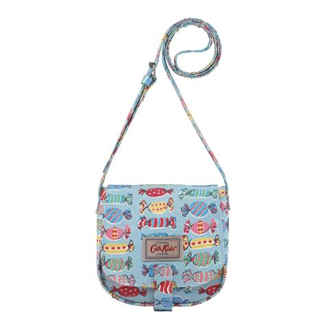 KIDS ACROSS BODY HANDBAG SWEETS DUSTY BLUE