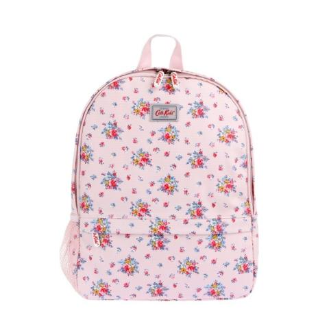 KIDS BACKPACK W/MESH SIDE POCKET ROSEBED POWDER PINK
