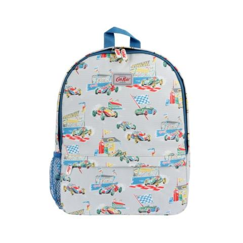 KIDS BACKPACK W/MESH SIDE POCKET FINISHING LINE LIGHT GREY