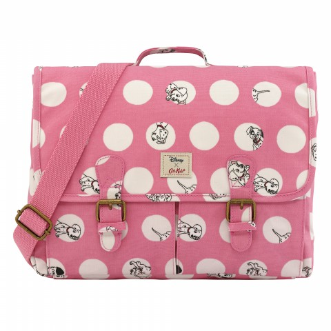 DISNEY KIDS SATCHEL BACKPACK PEEKABOO SPOT BLUSH PINK