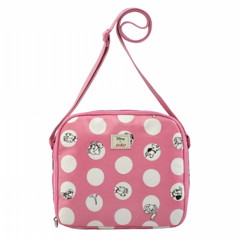 DISNEY KIDS LUNCH BAG PEEKABOO SPOT BLUSH PINK