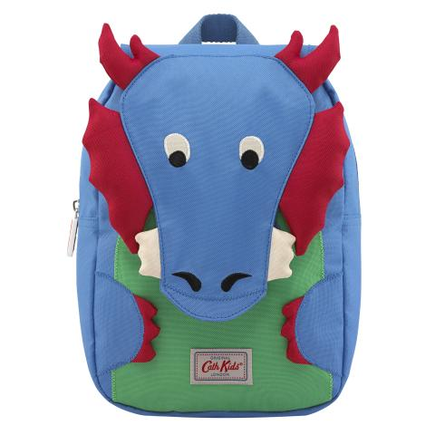 KIDS DRAGON NOVELTY BACKPACK W/CHEST STRAP BLUE