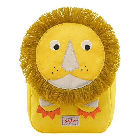 KIDS LION NOVELTY BACKPACK W/CHEST STRAP YELLOW