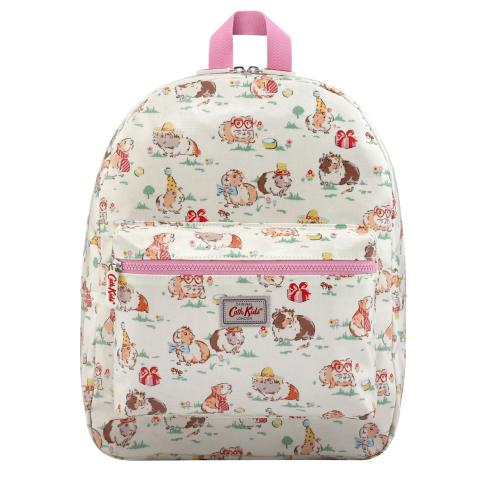 KIDS RUCKSACK PADDED W/CHEST STRAP PETS PARTY CREAM