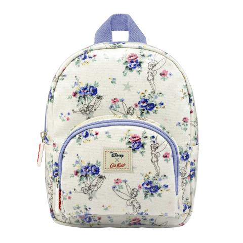 DISNEY KIDS MINI RUCKSACK W/CHEST STRAP TINKER BELL POSY OFF WHITE