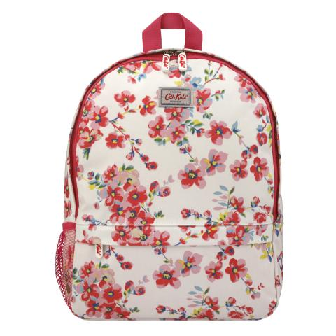 KIDS BACKPACK WITH MESH POCKET WELLESLEY BLOSSOM CREAM
