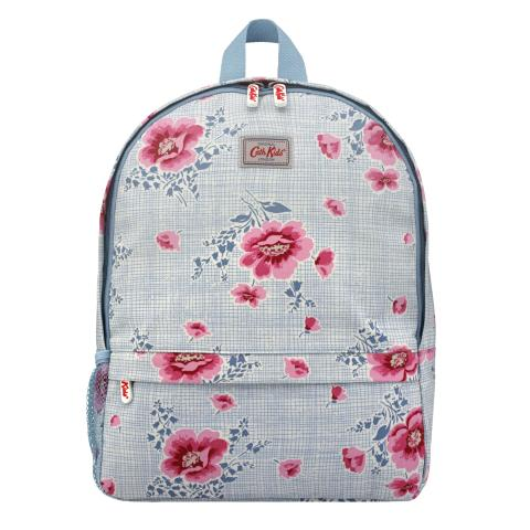KIDS BACKPACK WITH MESH POCKET HENLEY BLOOM STONE PINK