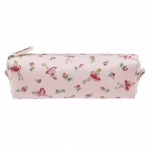 KIDS PENCIL CASE BALLERINA ROSE POWDER PINK
