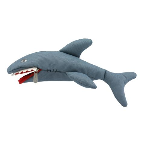 KIDS SHARK PENCIL CASE BLUE