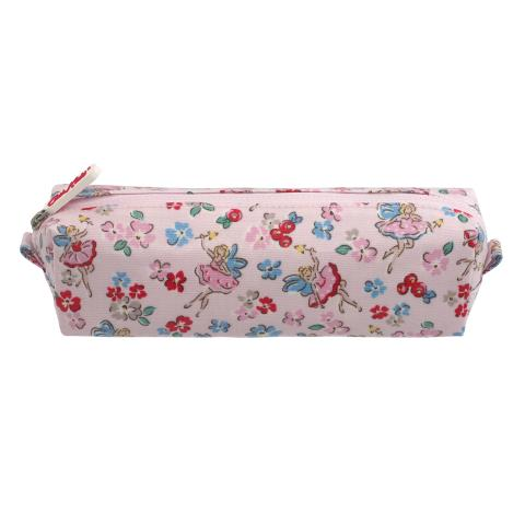 KIDS PENCIL CASE LITTLE FAIRIES SOFT PINK