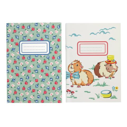NOTE PAD 2PK PETS PARTY CREAM