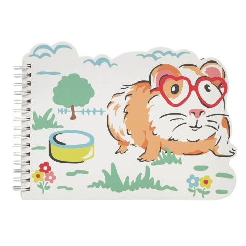 NOVELTY NOTE PAD PETS PARTY CREAM