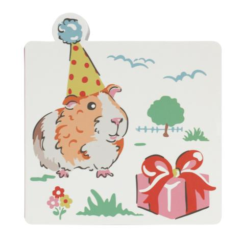 SHAPED STICKY NOTES PETS PARTY CREAM