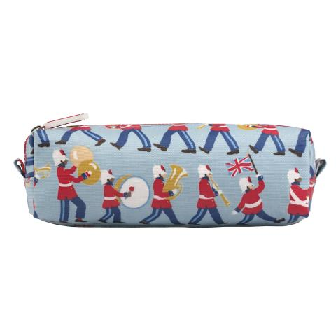 KIDS PENCIL CASE MARCHING BAND SEAFOAM BLUE