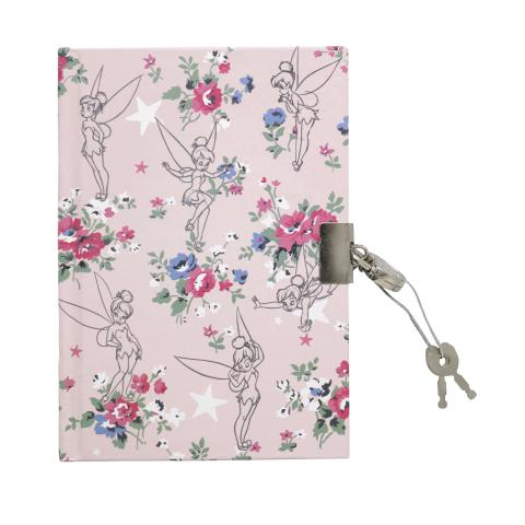DISNEY DIARY TINKER BELL POSY SUGAR PINK