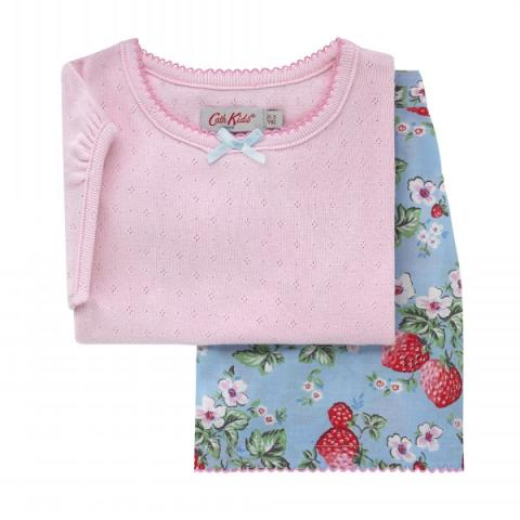 KIDS PJ SET MINI WILD STRAWBERRY